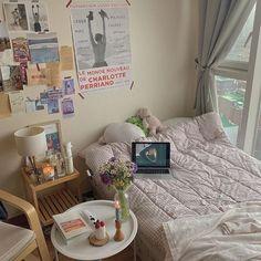 My New Room, My Room, Dorm Room, Room Ideas Bedroom, Bedroom Decor, Entryway Decor, Chambre Indie, Room Ideias, Deco Studio