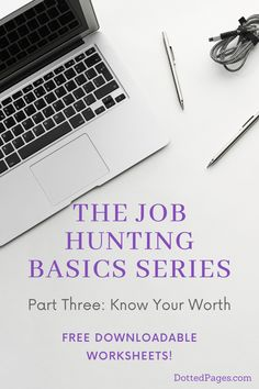 What do you want to get paid for your next job? Sounds like a simple question but do you know how to achieve it? Check out my simple tips for knowing where you stand on salary negotiations so you don't get caught out next time you're searching for work. Dotted Page, Knowing Your Worth, Interview Questions, Job Search, New Job, Worksheets, Hunting, Dots, Cards Against Humanity