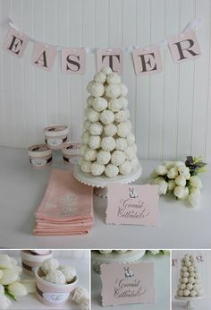 Easter Inspiration from Kate Landers Events, LLC for Layla Grayce.  Kate was inspired by my Little Hare Collection and knew just how to tweak it fit her vision.  We worked together to create paper that truly fit the look she was going for.  As always, she makes everything stunning.  Kate never disappoints! Take a look at all the details and a...
