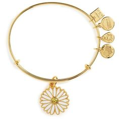 Women's Alex And Ani Expandable Charm Bracleet (49 CAD) ❤ liked on Polyvore featuring jewelry, gold, stackers jewelry, charm jewelry, yellow gold charms, alex and ani charms and gold charms
