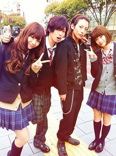 Switch Girl!! cast Japanese drama