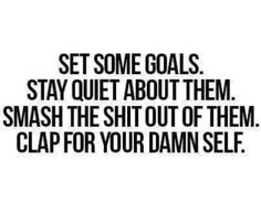 Do it for myself.. but but but i want to motivate others!!