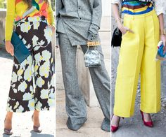 Go Wide! 10 Breezy-Chic Ways to Wear this Season's Pants Trend from InStyle.com