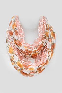 Josie Lace Scarf in Soft Blush
