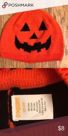 Jack-o-lantern 🎃 Beanie Worn twice. Excellent condition Gymboree Accessories Hats