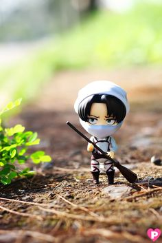 Good Smile Company: Levi Cleaning Nendoroid