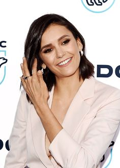 Nina Dobrev attend the Natural Resources Defense Council's STAND UP! for the Planet benefit at Wallis Annenberg Center for the Performing Arts on April 25, 2017 in Beverly Hills, California.