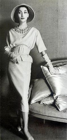 Christian Dior- I love the shape and proportions of this suit- I would wear this in a heartbeat. find more women fashion on misspool.com