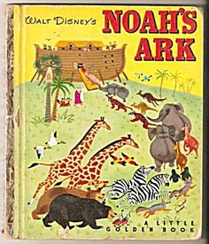 Disney NOAH'S ARK - Little Golden Book - 1952