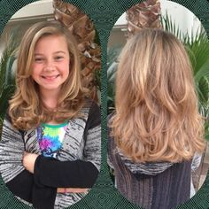 Model Little Girl With A Layered Haircut  Hair  Pinterest  Little Girls