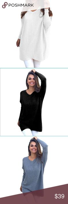 Beautiful women over sized knitted sweater Beautiful women over sized knitted loose knit wear sweater Sweaters