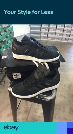 buy popular dee7c 3202e Adidas Busenitz Pro - BlackBlackWhite with Cordura Mens Skateboard Shoes