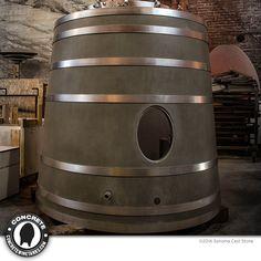 American-made Concrete Wine Tanks by Sonoma Cast Stone