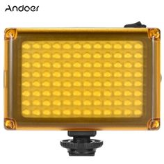 17.99$  Buy here - http://aic74.worlditems.win/all/product.php?id=D4068 - Andoer AD-96 Mini Portable On-camera LED Video Fill-in Light Panel 5500K / 3200K CRI85 with White Orange Filters for DSLR Camera