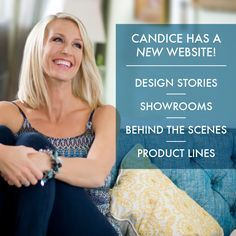 Check out my NEW website at http://www.candiceolson.com