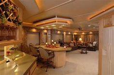 Interior Of A Luxury Houseboat