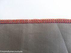 réglage surjet 3 fils large surjeteuse Lidl 1450 Tour Eiffel, Card Holder, Diy, Blog, Articles, Gardens, Serger Sewing, Sewing Collars, Patron Couture Facile