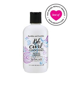 Best Curly Hair Product No. 13: Bumble and Bumble Curl Conscious Defining Crème, $29