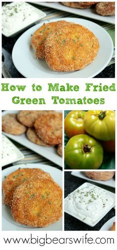 How to Make Fried Green Tomatoes. The Best Fried Green Tomato Recipe!