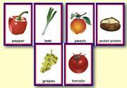 Healthy Food Sorting Cards: zelf Ned. tekst toevoegen