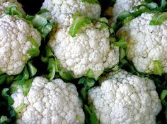 "Cauliflower – Cauliflower (a negative calorie food) is all the rage from califlower ""pizza crust"" to cauliflower ""alfredo sauce"". Grapefruit – Similar to celery, grapefruit is water. Growing Cauliflower, Spiced Cauliflower, Cauliflower Crust Pizza, Cauliflower Recipes, Rutabaga Recipes, Watercress Recipes, Cauliflower Mash, Cauliflower Couscous, Natural Treatments"
