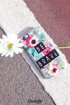 Be brave. Click through to see more iPhone 6 case designs by Jande Laulu >>> https://www.casetify.com/jande9/collection | @casetify