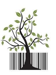 creative barcodes trees - Google Search