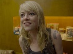 Improving on Emma Stone's Tattoo from Birdman #InkedMagazine #Birdman #movie #tattoos #fake