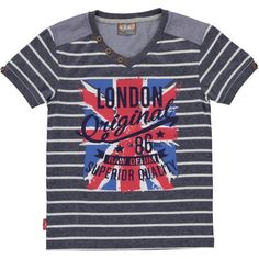 7609b0cc8db0d London Print T Shirt from Ackermans, a South African value retailer and  stockists of affordable family clothing, footwear, textiles and cellular in  ...