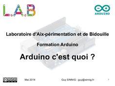 Presentation arduino