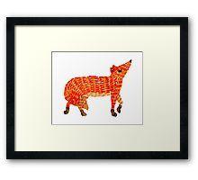 Adorable Fox Framed Art Print Orange Art, Red Art, Nursery Paintings, Nursery Art, Framed Art Prints, Canvas Prints, Original Artwork, Original Paintings, Watercolor Fox