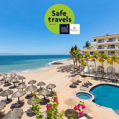 The #WTTC is recognizing cities and businesses who have prioritized health and safety, and this summer, Villa del Palmar Puerto Vallarta has been awarded the #SafeTravelsStamp  for the preventive measures that have been taken against the #Coronavirus pandemic. Click here and learn more about this recognition. #VillaDelPalmarPuertoVallarta #SafeTravelsSeal #Mexico #MexicoResorts #VillaGroupResorts #PuertoVallarta #RivieraNayarit #Cancun #Loreto #CaboSanLucas Mexico Resorts, Beach Resorts, Travel Stamp, Cabo San Lucas, Puerto Vallarta, Travel And Tourism, Mexico Travel, Resort Spa, Cancun