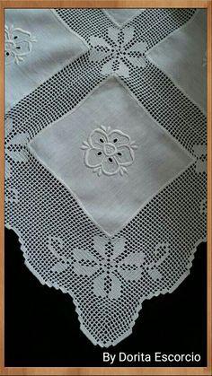 Kare Nm irlrşyirme – my site Crochet Lace Edging, Crochet Motifs, Crochet Doilies, Crochet Stitches, Crochet Patterns, Crochet Home, Love Crochet, Crochet Baby, Knit Crochet