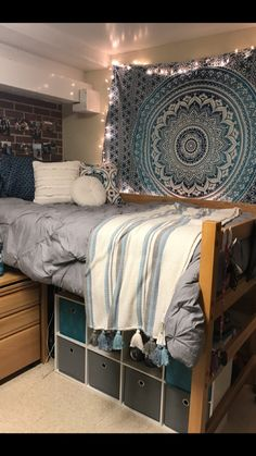 Dorm room layout