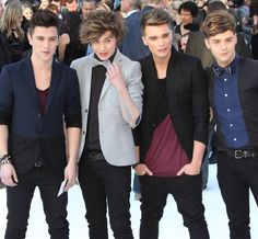 Union J. AND GEORGE IS ROCKING  A BOW TIE! He is definitely my fav.