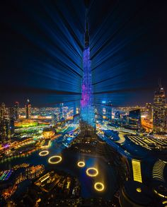 Family Vacation Spots, City Landscape, Burj Khalifa, Empire State Building, Dubai, Architecture Design, Travel Destinations, Beautiful Places, Around The Worlds