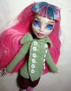 Peacoat for Monster High dolls