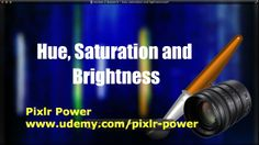 This video looks at how to enhance an image using hue, saturation and lightness in Pixlr. These settings make changes to an entire image. Pixlr Power: www.udemy.com/pixlr-power