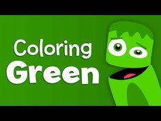 English Corner Time: BabyFirstTV: Color Crew - Green | Learn Colors - Color Lesson for Kids http://englishcornertime.blogspot.com