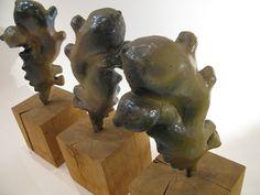 gember trio Lion Sculpture, Ceramics, Statue, Art, Ceramica, Art Background, Pottery, Kunst, Ceramic Art