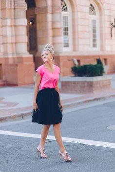 [Love Courtney Lee] the polka dot Ella tulle skirt