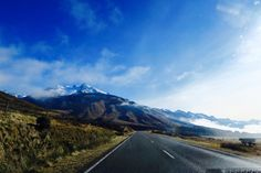 Driving to Mount Cook - NZ