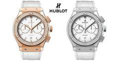 Hublot presenta el exclusivo Classic Fusion Chronograph White