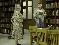 """Married ... with Children (TV show, 1988) """"He Thought He Could""""  Al Bundy faces his childhood nemesis: the school librarian-- when he finds a book in his attic that is more than 30 years overdue."""