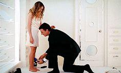 paulacaline: Carrie Bradshaw and Mr Big.