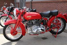 OldMotoDude: 1951 Vincent Rapide on display at the 2018 Classic...