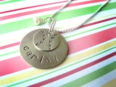 Softball necklace / personalized by you