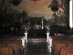 Weddings at the #Santa #Barbara #Courthouse #Mural #Room  www.elizabethsgarden.net