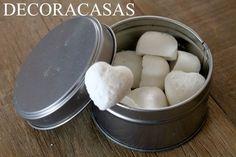 pastilha desodorante para banheiros 1 xícara de bicarbonato de sódio  1/4 de…