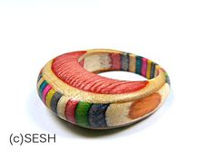 Skateboard Ring Limited Edition - Made from Recycled Skateboards by SESH